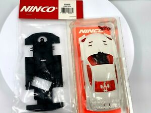 Ninco 80868 Prorace EVO Lexus SC430 JGTC White Body with 80866 Stock Chassis