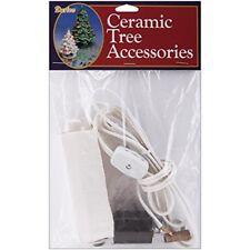 Darice Ceramic Christmas Tree Lamp Kit 120v/40w - 120v40w White Replacement