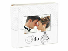 Malden I Do Photo Album Wedding Collection 2 up With Memo 4-inch by 6-inch