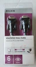 Belkin VGA/SVGA Video Cable 6 Feet