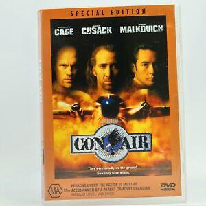Con Air Special Edition Nicolas Cage John Cusack John Malkovich DVD GC