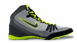NIKE FREEK Wrestling Shoes Ringerschuhe Boxing MMA Gray 007