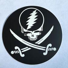Grateful Dead & Company Pirate Jolly Roger Stealie Sticker Not Poster Shirt