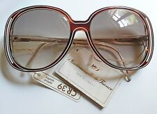 Mademoiselle de France Lunettes occhiali da sole vintage 1980s