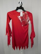 Daring Devil Girl Halloween Dress-Up Costume Child 4-6 Small #7567