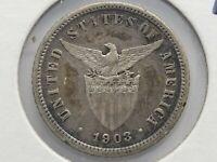 Philippines Ten 10 Centavos Coin 1903