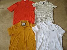 Lot, 4 mens size XXL polo shirts, Aeropostale, Abercrombie & Fitch