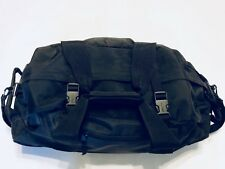 "LL Bean The Traveler Black 24"" Rolling Upright Luggage Nylon Duffle"