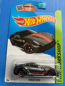 Hot Wheels 2015 WorkShop Ferrari 599XX Rare