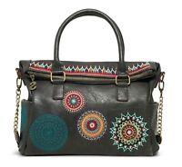 Desigual Siara Loverty Shoulder Bag Handtasche Umhängetasche Tasche Schwarz