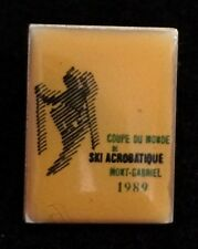 MONT GABRIEL 1989 Ski Acrobatique Vintage Skiing Ski Quebec CANADA Resort Travel
