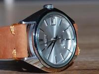 King Seiko Watch Hi Beat Chronometer Mini Grand New NOS