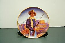 Franklin Mint Limited Edition John Wayne Collector Plate Hero Of The West