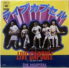 "7"" SINGLE / THE HOSPITAL / LIVE CAPSULE / BEE MAN / CBS SONY JAPAN"