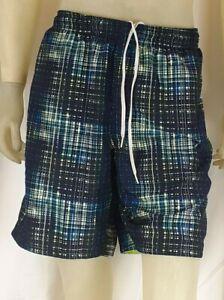 Nike Men Lined Swim Trunks Board Shorts Multi-Color Size XL