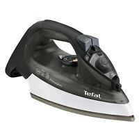 Tefal FV2560 PrimaGliss 2300W Electric Ceramic Steam Iron Easy Glide, Black Grey