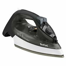 Tefal FV2560 PrimaGliss 2300W Electric Ceramic Steam Iron Easy Glide, Black Grey