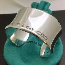 Tiffany & Co Silver 1837 Extra Wide Cuff Bracelet