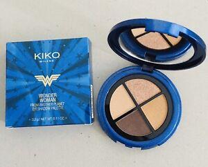 KIKO Wonder Woman Eyeshadow Palette 01 Fierce Lady Matte Pearl Metallic Glitter