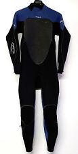 O'NEILL Men's 3/2 PSYCHO 3 Zen-Zip Wetsuit - Blk/Blu - Medium - NWT