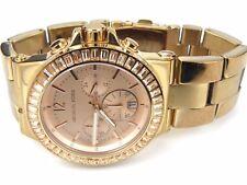 Michael Kors Damenuhr MK5412 mit Gold Zifferblatt und rose vergoldetes Armband