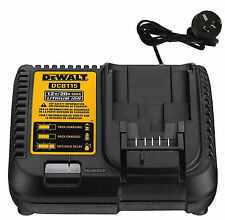 DEWALT 240volt  LITHIUM ION BATTERY CHARGER DCB115  10.8V - 20V BATTERY dcb105