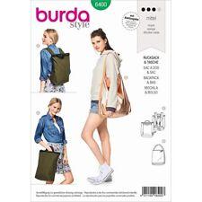 Schnittmuster Burda 6400 Rucksack Tasche