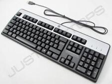 New Genuine Original HP USB Wired Desktop PC French Francais Keyboard Clavier