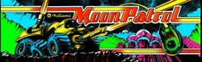 Moon Patrol Arcade Marquee – 26″ x 8″
