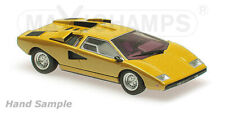 Minichamps MAXICHAMPS 940103100 - LAMBORGHINI COUNTACH LP 400 – 1970 YELLOW 1/43