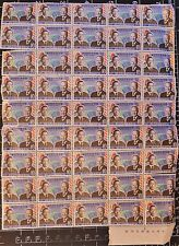 ✔ 1974 Korea 45x Stamps Presidents Park and Gerald Ford Unused Uncut Sheet