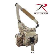 Lightweight MOLLE Advanced Tactical Travel Shoulder Bag Bug Out Pack Multicam