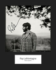 RAY LaMONTAGE #3 10x8 SIGNED Mounted Photo Print - FREE DELIVERY