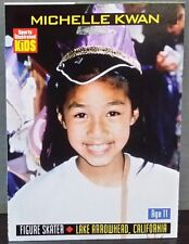 Michelle Kwan card Sports Illustrated For Kids #881