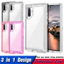 for Samsung Galaxy Note 10 Case,10 Plus Transparent Protective Durable PC Cover