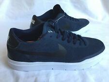 0fe37f9bf28f60 New Men s Nike SB Bruin Hyperfeel Skate Dark Blue Suede Sneakers Shoes Size  5US