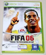FIFA 06-PER XBOX 360-EA SPORTS CALCIO FOOTBALL SOCCER lega federale 2006