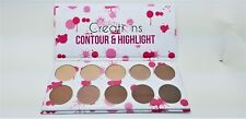 Beauty Creations Contour & Highlight Palette -10 Shades FREE SHIPPING