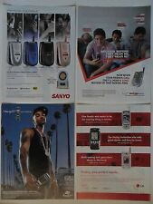 Nice Lot #5 of 20 Different Assorted Cell Phones ~ Verizon Sanyo LG ++