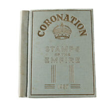 Coronation Stamps of the Empire 1937 Album G.F. Rapkin George VI Queen Elizabeth