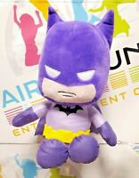 Official DC Comics Purple Batman Character Sitting Plush Soft Toy 10 23cm Teddy