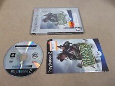 PS2 Playstation 2 Pal PLATINUM Game MEDAL OF HONOR FRONTLINE with Box Instructio