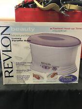 Revlon Moisture Stay Luxury Deluxe Paraffin Bath Spa Rvs1212