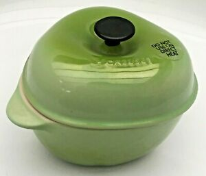 Le Creuset Palm Stoneware Petite Apple Cocotte 13 Ounce