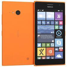 BNIB Nokia Lumia 735 Orange 8GB Windows 10 Wifi 4G GPS Unlocked Smartphone