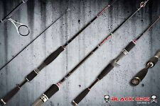 BLACK-OPS SII Spinning Fishing Rod JAPANESE Toray Carbon Blanks & Fuji Guides