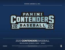 NEW YORK METS 2020 Panini Contenders Baseball 12 Box Case Break #CB1