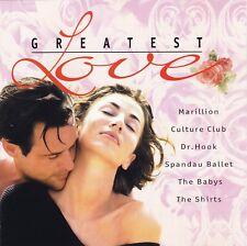 Greatest Love Songs - Musik Album CD - Marillion Spandau Ballet Culture Club