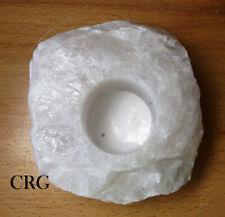 Qty-1 Quartz Rock TeaLight Candle Holder CAN3BB-7B