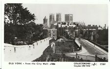 Yorkshire Postcard - Old York - From The City Wall c1886   2865